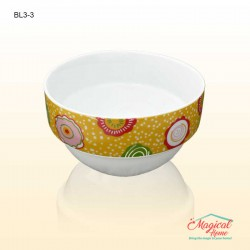 Bol ceramic BL3-3 decor floral