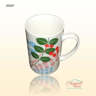 Cana ceramica Z0507 decor floral