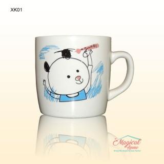 Cana ceramica XK01 decor pentru copii