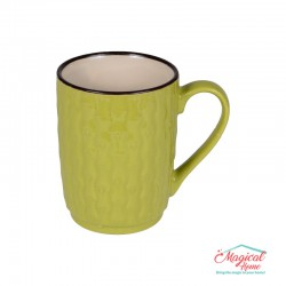 Cană ceramică decor uni H2H3-13 verde