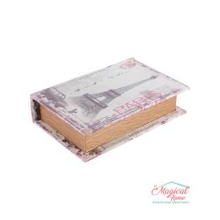 Cutie mică pentru bijuterii1100 pictată, din lemn