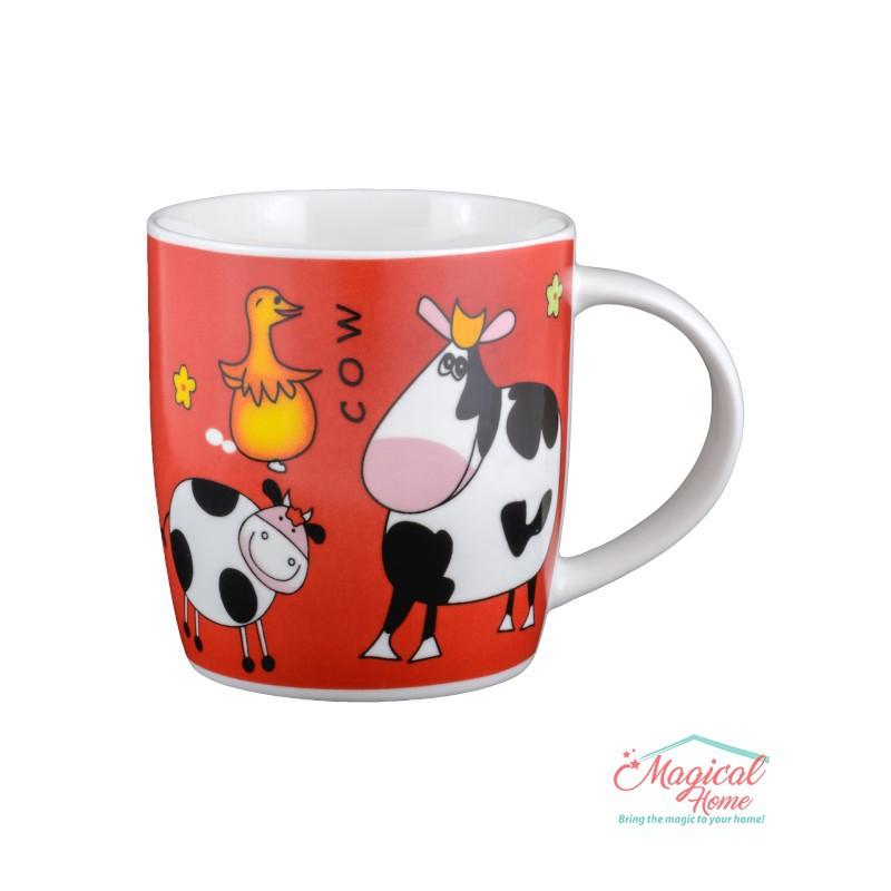 Cană ceramică decor copii Q22 - COW