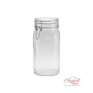 Borcan sticlă ermetic 1,5 l Fido