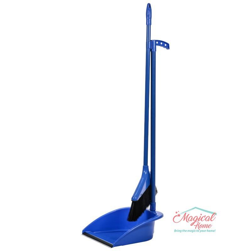 Set curăţenie ergonomic , mătură cu coadă şi făraş cu coadă MF1-ABS