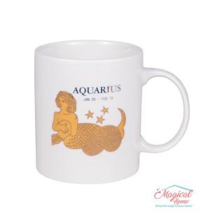 Cană ceramică Horoscop Aurie A15-Vărsător