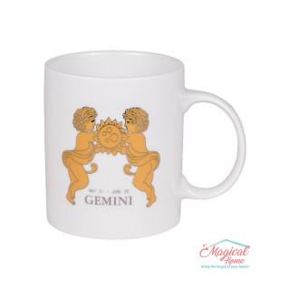 Cană ceramică Horoscop Aurie A15-Gemeni