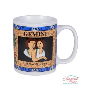 Cană ceramică Horoscop Multicolora A18-Gemeni
