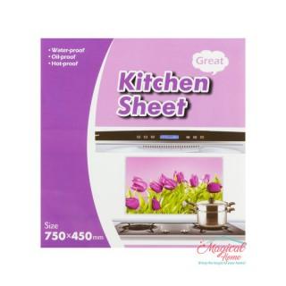 Folie protecție perete bucătărie 75x45cm 00650-04