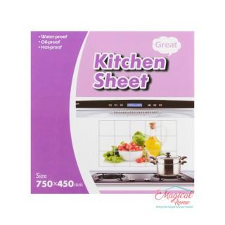 Folie protecție perete bucătărie 75x45cm 00650-10