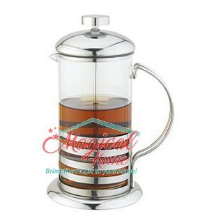 Infuzor sticlă pentru ceai sau cafea Grunberg GR324, 350 ml