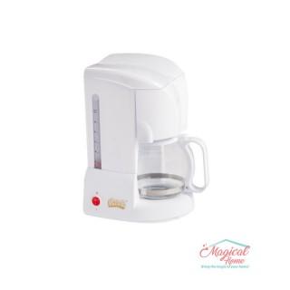 Filtru de cafea 650 W, 10-12 Ceşti, Alb, Victronic, VC608ALB