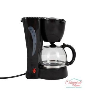 Filtru de cafea 550 W, 4-6 Ceşti, Negru, Victronic, VC610NGR