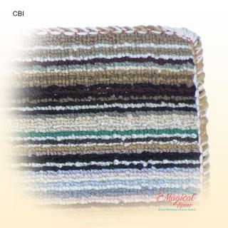 Covoras intrare textil 34x54cm CBI Detalii suprafata