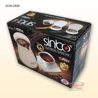 Ibric electric, fierbator cafea SCM 2928 Sinbo Mod ambalare