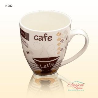 Cană ceramică decor modern N002