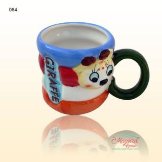 Cană ceramică decor copii 084 GIRAFĂ