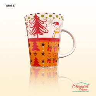 Cana ceramica decor Craciun YB0587