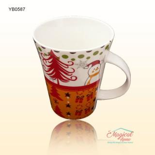 Cană ceramică decor Crăciun YB0587